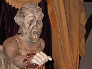 A Weeping Angel - possibly one of the scariest baddies ever created on the series